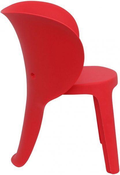 Olifant Kinderstoel Rood