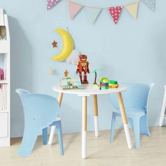 Set van 2 kinderstoelen | 32cm | Blauw