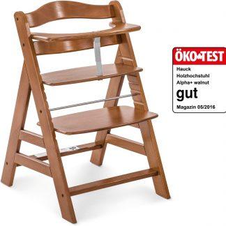 Hauck Alpha+ Kinderstoel - Walnut