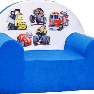 Kinderfauteuil / kinderstoel / peuterstoel - Blauw Cars