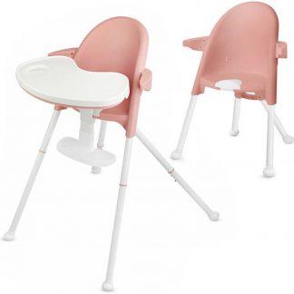 Kinderkraft Kinderstoel 2 in 1 Pini Roze