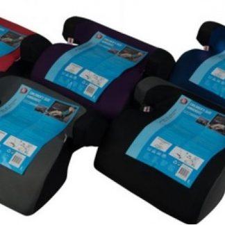 Kinderzitje - Stoelverhoger - Autozitje - Kinderzitverhoger - Auto Zitverhoger - Autozitje - Kinderzitje / Donker Blauw