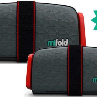 Mifold- De meest compacte zitverhoger- Voordeelpak: 2x grijs
