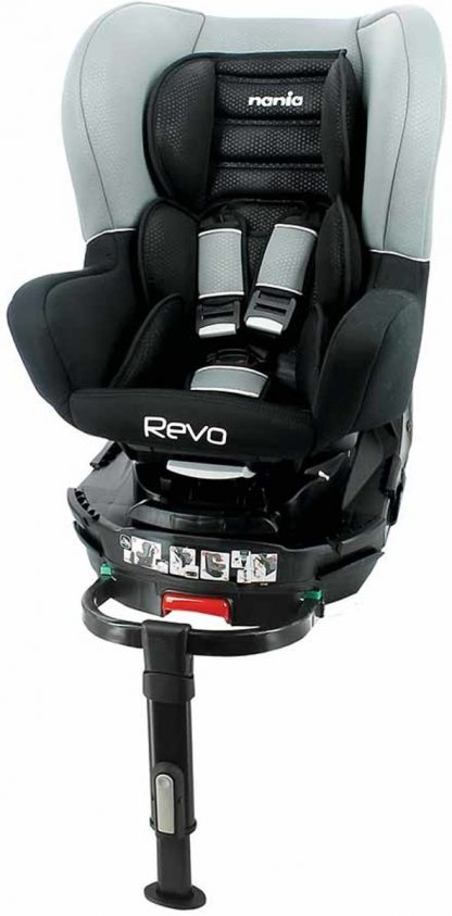 Nania Revo 360° - draaibare isofix autostoel - Grijs