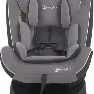 BabyGO autostoel Nova 360° met isoFix Grijs (0-36kg)