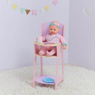 Olivias World 40 cm. Houten kinderstoel voor poppen TD-12878A