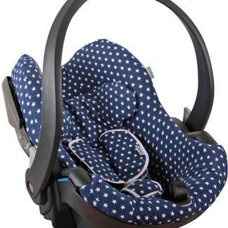Ukje - Autostoel hoes BeSafe Stokke Izi Go (Modular) - Blauw