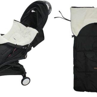 Voetenzak voor Kinderwagen - Zeer Comfortabel - Fleece deken Kinderen - Baby Kleed - Tegen de Kou - Winter - Babyzitje - Autostoel - Zeer Zacht - Universeel - Baby's -Warm -
