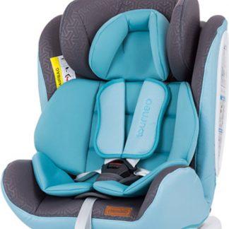 Autostoel Tourneo isofix baby blauw 0-36 kg 360 graden draaibaar