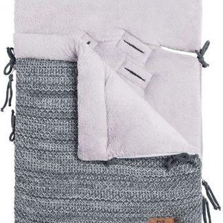 Baby's Only Voetenzak autostoel 0+ River antraciet/grijs mêlee