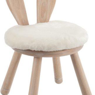Bunny Kinderstoel Konijn - Naturel hout 34 x 34 x 55 cm