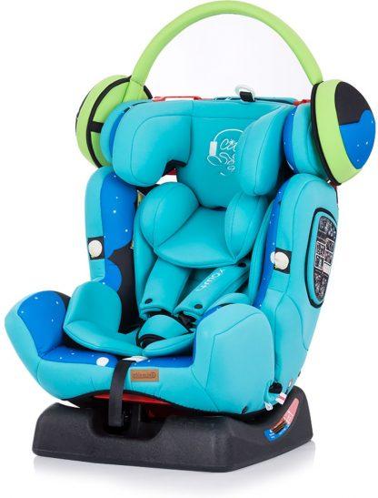 Autostoel Chipolino 4 Max jongen blauw 0-36 kg