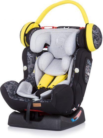 Autostoel Chipolino 4 Max jongen grijs 0-36 kg