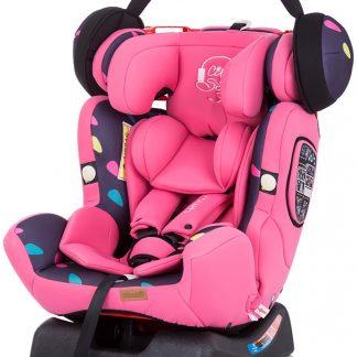 Autostoel Chipolino 4 Max meisje roze 0-36 kg