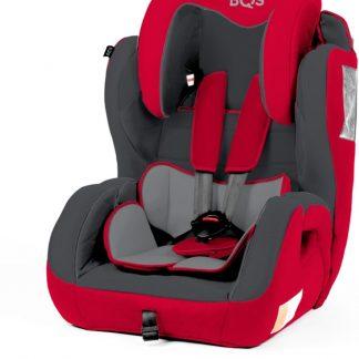 BabyAuto Kinderstoel BEZ Rood/Grijs 9 - 36 kg / 9 maand - 12 jaar