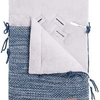 Baby's Only Voetenzak autostoel 0+ River jeans/grijs mêlee