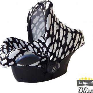 Bliss Maxi Cosi Autostoel Zonnekap - Wolk Zwart