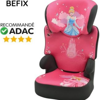 DISNEY Princess Autostoel Befix Group 2-3 Framboos