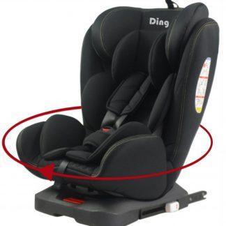 Ding Autostoel Twist 360 Zwart 0-36 Kg