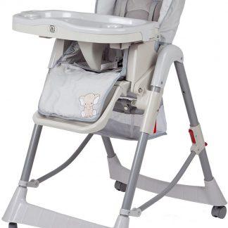 Kinderstoel BabyGO Tower Maxi Grijs