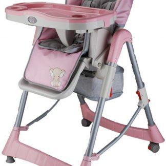 Kinderstoel BabyGO Tower Maxi Roze