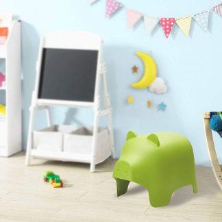 Kinderstoel| Groen | Varken Ontwerp | Kunststof