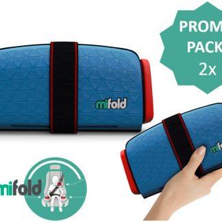 Mifold PROMOPACK- De meest compacte zitverhoger- Voordeelpak: 2x blauw