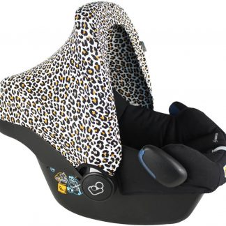 Ukje Cabriofix / Pebble Maxi-Cosi Autostoel Zonnekap - Wit Geel