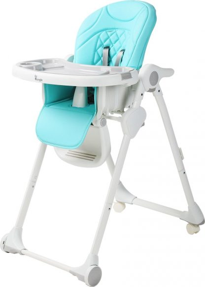 B-Dinner Chair Wheely Kinderstoel - Blauw