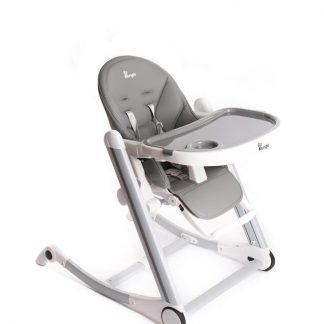 B-Dinner Chair Wheely Kinderstoel - Grijs