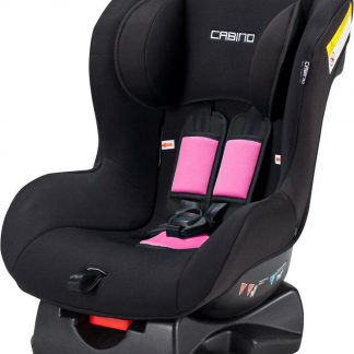 Cabino autostoel groep 1 - Met Organizer - Zwart - Roze