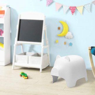 Kinderstoel | Varken Ontwerp | Kunststof | Wit