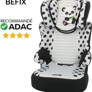 NANIA Autostoel Befix Panda Group 2-3 Grijs