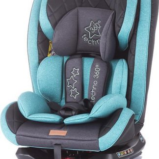 Autostoel Techno isofix mint 0-36 kg 360 graden draaibaar