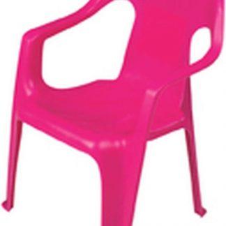 Kinderstoel Plastic Fuchsia