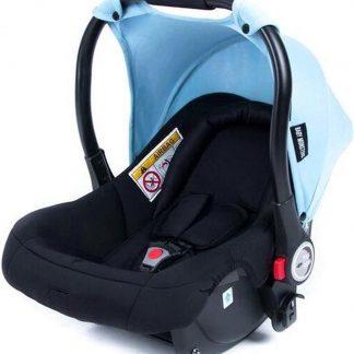 Baby Monsters Zonnekap Luna Autostoel 0+ Lichtblauw