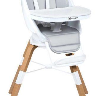 BabyGO Kinderstoel Carou 360° Wit