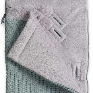 Baby's Only Voetenzak autostoel 0+ Robust - stonegreen