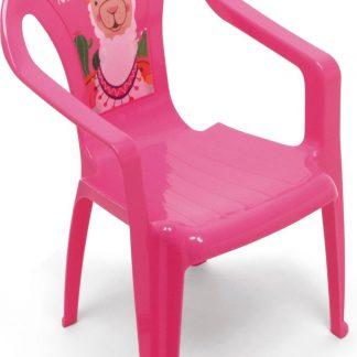 Arditex Kinderstoel Llama 51 X 36,5 Cm Polypropyleen Roze