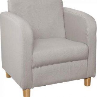 Atmosphera Créateur d'intérieur® | kinderstoel | chique fauteuil | lichtgrijs | stoeltje peuters kinderen