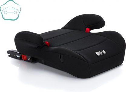 Auto Zitverhoger - Isofix - Autozitje - Kinderzitje - Zwart - Fillikid