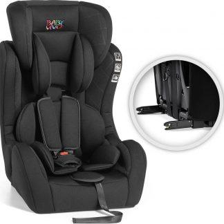 Autostoel - Kinderstoel met Isofix - Groep 2/3 - Zwart