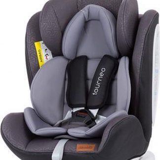 Autostoel Tourneo isofix grijs grafiet 0-36 kg 360 graden draaibaar