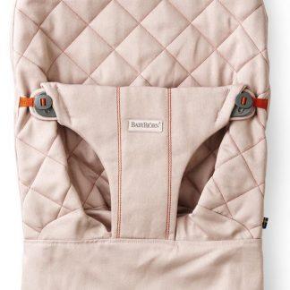 BABYBJÖRN Stoffen Zitting voor BABYBJÖRN Wipstoeltje - Oudroze Cotton