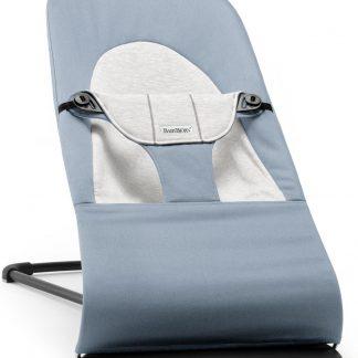BABYBJÖRN Wipstoeltje Balance Soft - Blauw-Grijs Cotton-Jersey