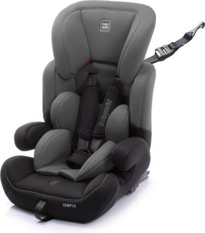 Babyauto autostoel zarauz con fix groep 123 grey