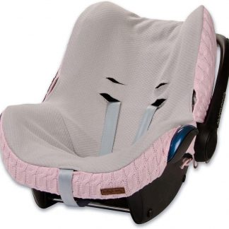 Baby's Only hoes autostoel Maxi Cosi kabel teddy babyroze