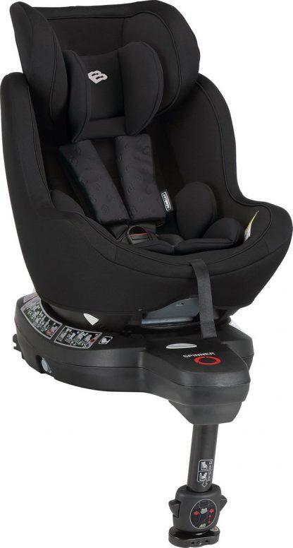 Bebecar Spinner autostoel - zwart