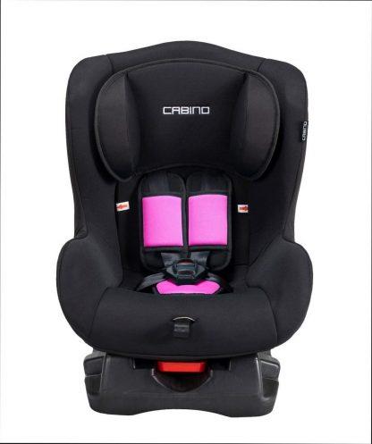 Cabino Autostoel 0-18kg Zwart-Roze