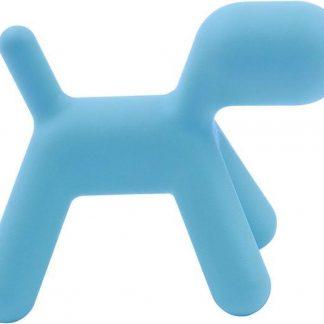 Design kinderstoel Puppy chair klein blauw